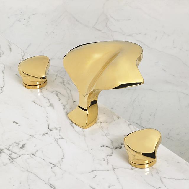 Aurora Roman Tub Faucet w/ Aurora Handles