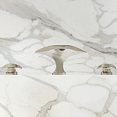Aurora Roman Tub Faucet w/ Contour Handles