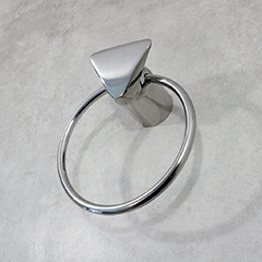 Towel Ring w/ Sky Design (shown in polished chrome)