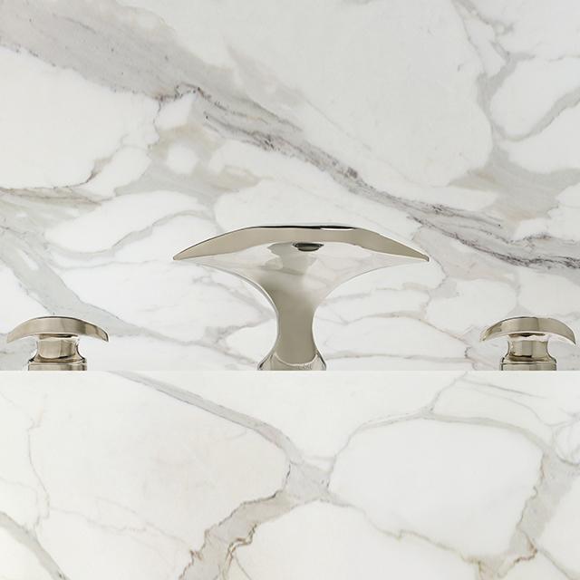 Aurora Lavatory Faucet w/ Contour Handles
