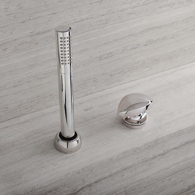 Roman Tub Handshower w/ Contour Handle