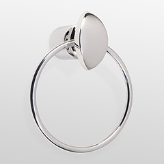 Towel Ring w/ Contour Design