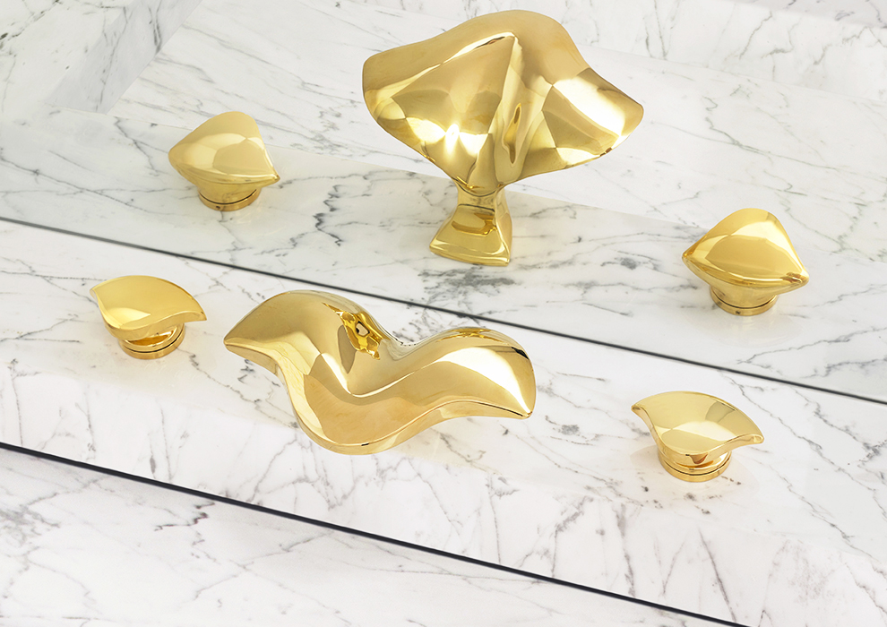 Aurora Faucet in Gold