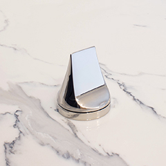 Shutoff Set w/ Mint Handle (shown in polished chrome)
